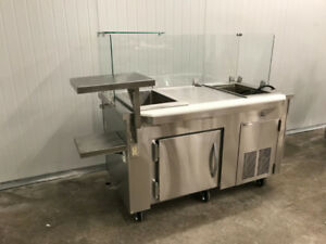 Nella - Custom Refrigerated Prep Table - On Clearance