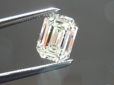 0.28 Cts F Color VS2 Clarity Emerald Cut Natural GIA Certified Loose Diamond