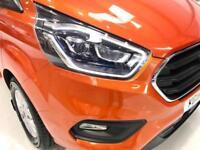 2018 FORD TRANSIT CUSTOM AUTO LIMITED 130PS LWB CREW CAB AUTOMATIC ORANGE COMBI