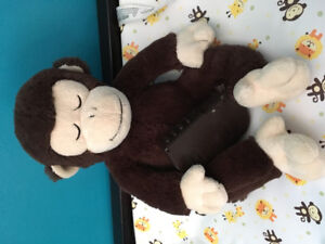 Baby sleep monkey stuffy