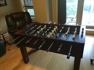Foosball table for sale 175$ obo. If posted still available.