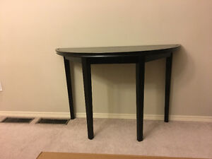 Expresso console table in perfect condition