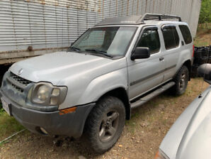 2004 Nissan Xterra 4X4. $5200 or trade for motorcycle