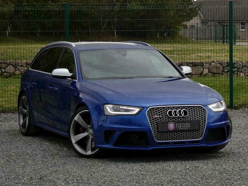 2013 Audi RS4 AVANT 4.2 V8 FSI Quattro, S-Tronic Estate Petrol Automatic