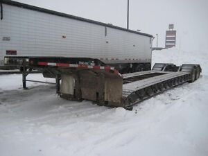 2005 Trailking Low Bed, Used Deck