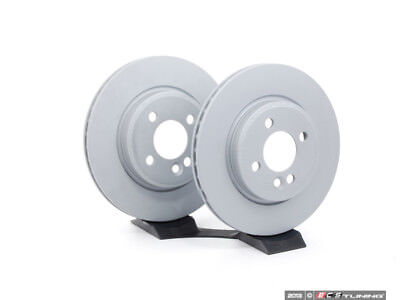 "Zimmermann - Front Brake Rotors - Pair 10.86"" (276x22) - 341115028914KT"