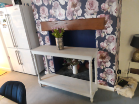 Side table for a dining room or hall
