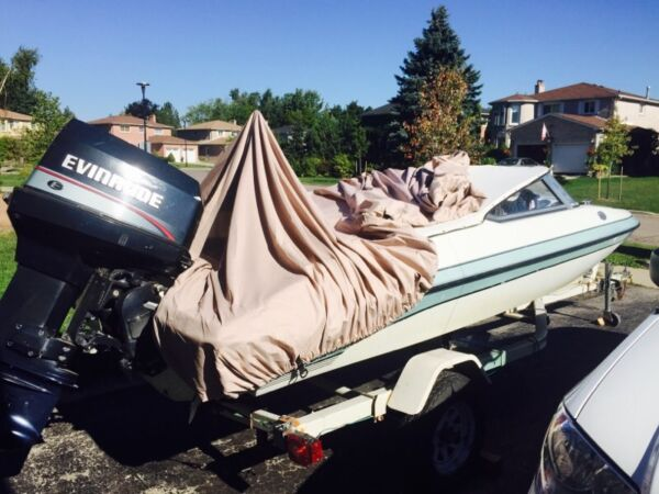 Used 1996 Evinrude 1996 silver line bow rider