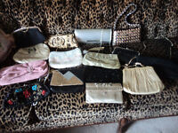 selling my collection of evening bags, all good , clean exc cond