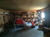 Contents of Shop and Yard in Atlin
