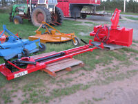 Sub frame to mount snowblower on front of tractorSOLD PPU Mon