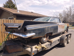 1959 Buick Invicta 2dr HT  Project.