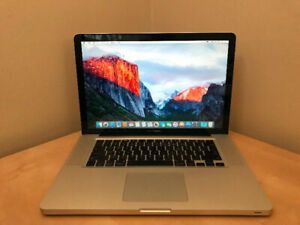 """Late 2008 MacBook Pro 15"""" 2.53GHz C2D / 4 GB / 320GB HDD"""