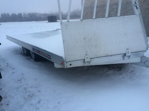 2015 16' Snowmobile Trailer