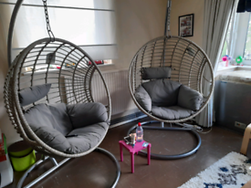 Two Egg chairs