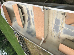 Price dropped again! Cannot go any lower! Tin boat and motor
