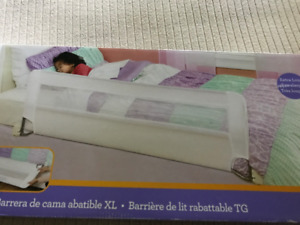 XL Swing Down Bed Rail for Children 2-5 yrs of age