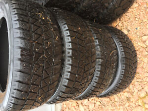 4 215/55/16 Hancook Winter Tires