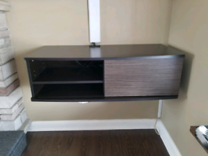 wall mounted media console 36""