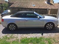 Audi A4 cabriolet .2.5tdi