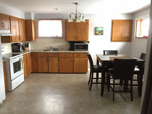 June 1st Large and Bright 2 BR Basement Apartment All Inclusive