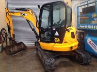 Digger Plant Machine and Driver For Hire JCB