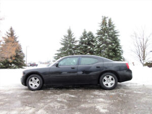 2007 DODGE CHARGER V6 SXT- WOW JUST 106K!!  4 NEW SNOW TIRES!!