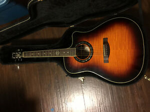 Fender T-Bucket 300CE Acoustic Guitar with Hard Shell Case