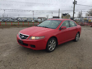 2004 ACURA TSX ★ LOW KM ★ LEATHER ★ HEATED SEATS ★ PENDING SALE London Ontario image 1