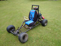Custom Go Kart Includes New Tires