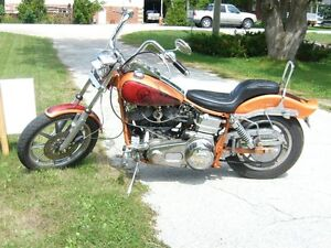 Vintage 1975 FXE 1200 Shovel Head Motor Cycle
