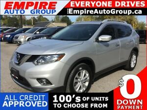 2014 NISSAN ROGUE SV * AWD * REAR CAM * PANO SUNROOF * BLUETOOTH