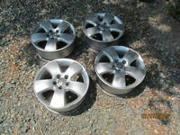 4 2001 vw jetta alloy wheels