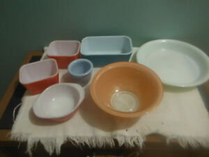 Vintage Pyrex collection