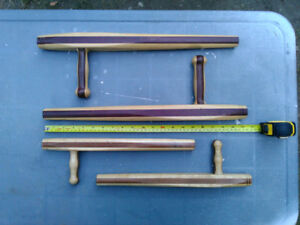 2 Pairs Tonfa Custom hardwood Father and Son set