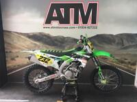 KAWASAKI KXF450 2017 MOTOCROSS BIKE, MINT CONDITION, LOW HOURS (ATMOTOCROSS)