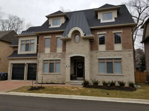 New - 5000+ sq ft. 70 foot lot! Close to downtown. 5 bedrooms.