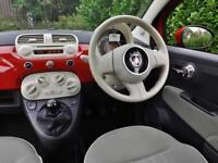 2012 Fiat 500 LOUNGE Manual Hatchback