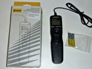 wire remote control for Sony A7.A7R,A5000.A6000--etc