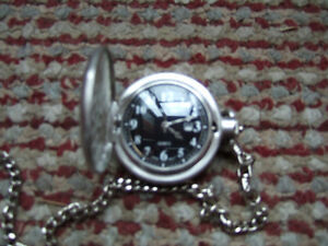 Silver Pocket watch- $1