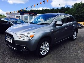 2011 Mitsubishi ASX, 4x4, 12 Months Warranty, 2 Years MOT, Finance Available, PX welcome