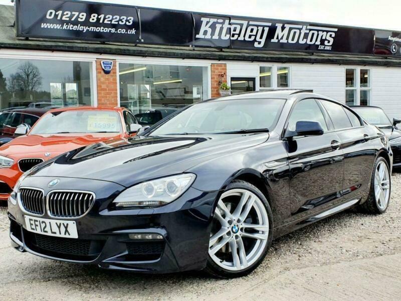 2012 12 BMW 6 SERIES 640D M SPORT GRAN COUPE PANORAMIC ...