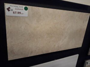 """Hera Polished Marble 12""""x 24"""" Tile...... MASSIVE DISCOUNT OF 50%"""