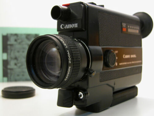 Tested & Working CANON 310 Super 8 MOVIE CAMERA Great Film Student Camera