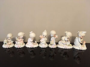 Precious Moments figurines for birthday ages 1-7