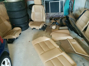 BMW E36 tan seats front and rear
