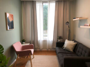 New & all-inclusive Counselling Office for Rent