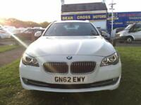 2012 BMW 530D AC WHITE