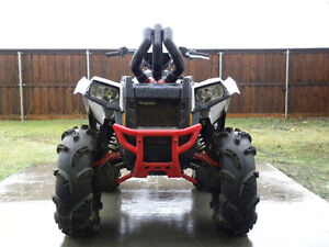 SNORKEL YOUR ATV snorkel kit for Polaris Scrambler ATV TIRE RACK Kingston Kingston Area image 2