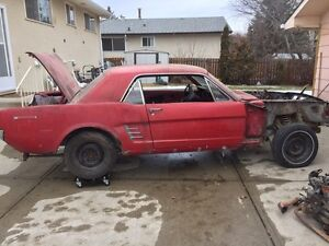 1966 Ford Mustang Rolling Project